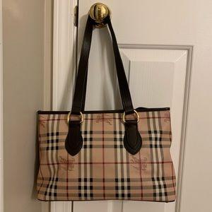 Burberry Shoulder Bag in Haymarket Check